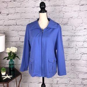 Beautiful Karen Scott light jacket size PXL